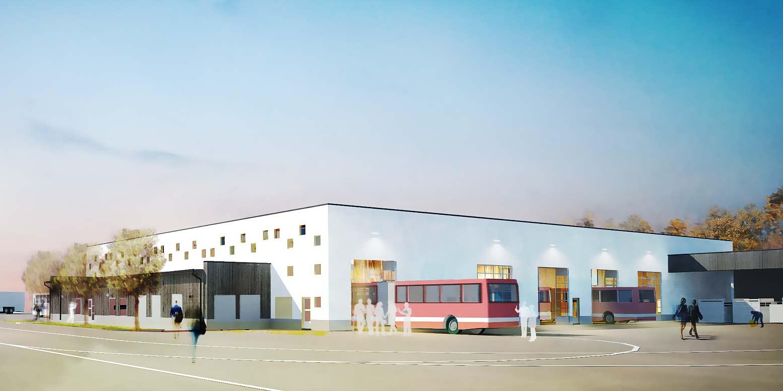Stockby bussdepå