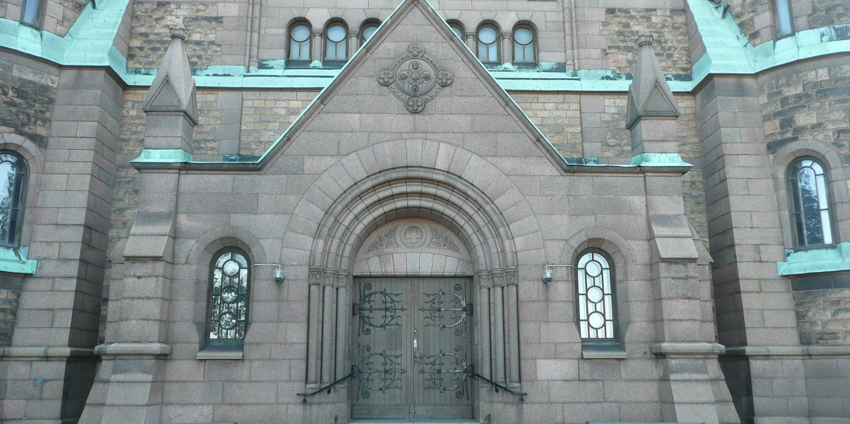 Ingång Sofia kyrka
